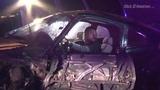 VIDEO: West Loop wrong-way driver head-on crash