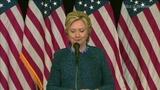 Hillary Clinton presser