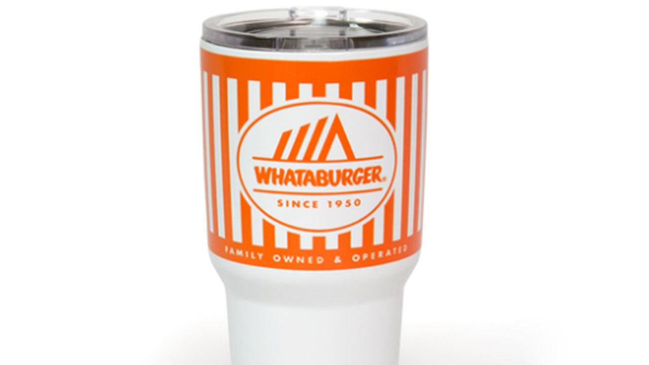 61cc571dc60 Whataburger sells tumblers that look like restaurant's cups