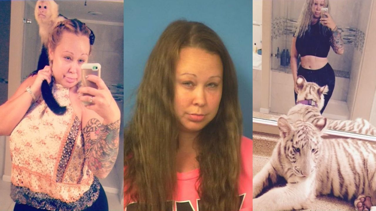 Woman facing charges for holding exotic animals in home with