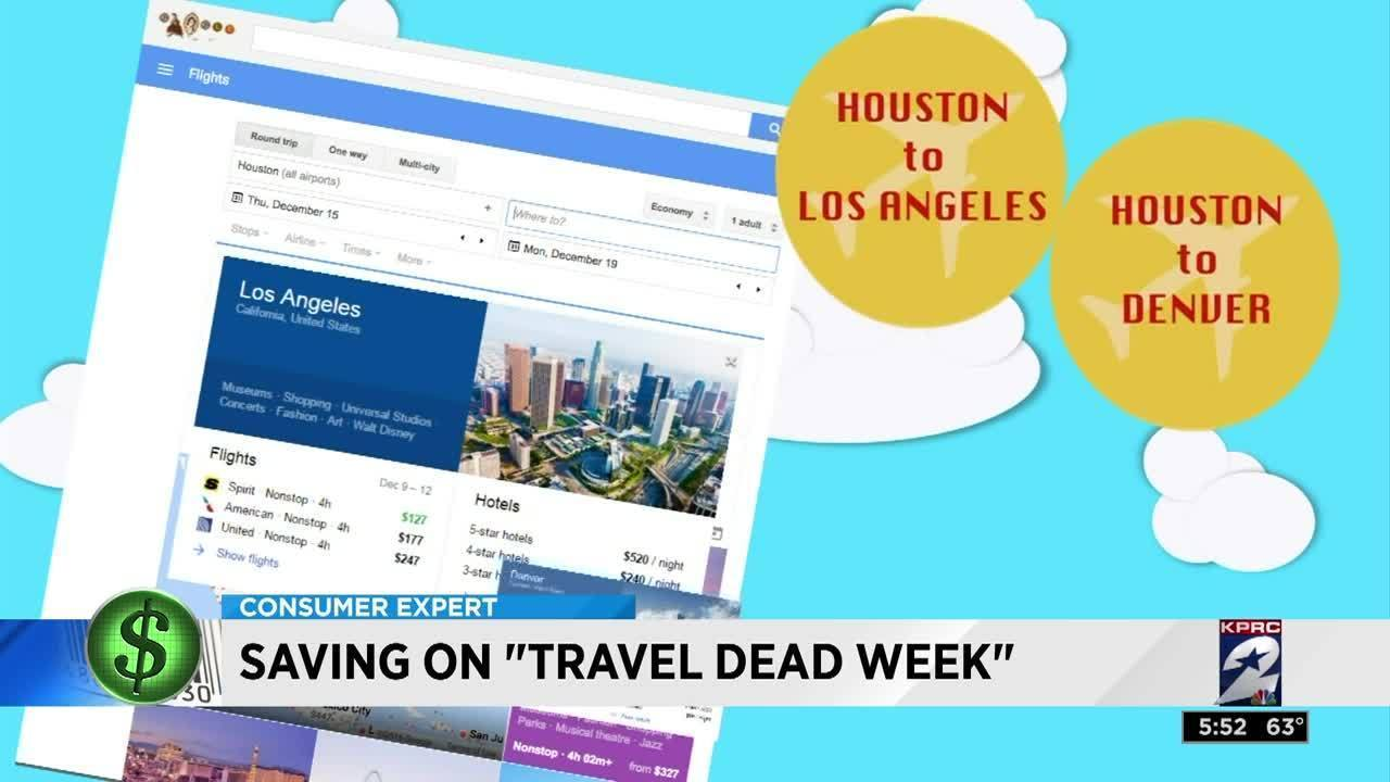 Dead week travel deals