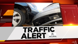 Overturned tractor-trailer closes I-10 at FM 1463