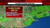 Flash Flood Watch issued until noon for much of Houston area