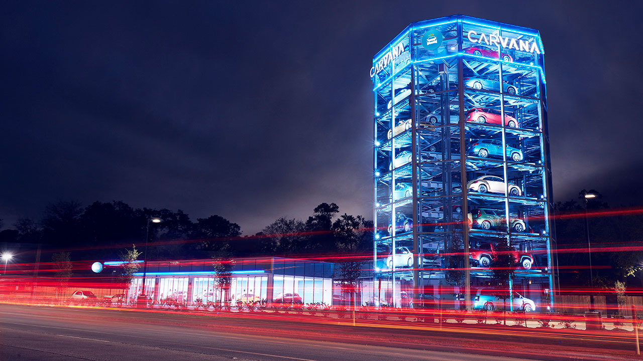 Car Vending Machine Allows Consumers To Buy Online Avoid
