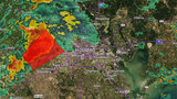 RADAR: Storms moving into Houston