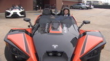 New 3-wheeled vehicle 'like riding motorcycle'