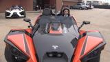 Driving Houston freeways on three wheels