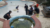 Houston skateboarders caught draining pool for personal skate park