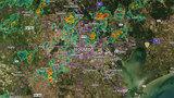 RADAR: Showers, storms move through Houston