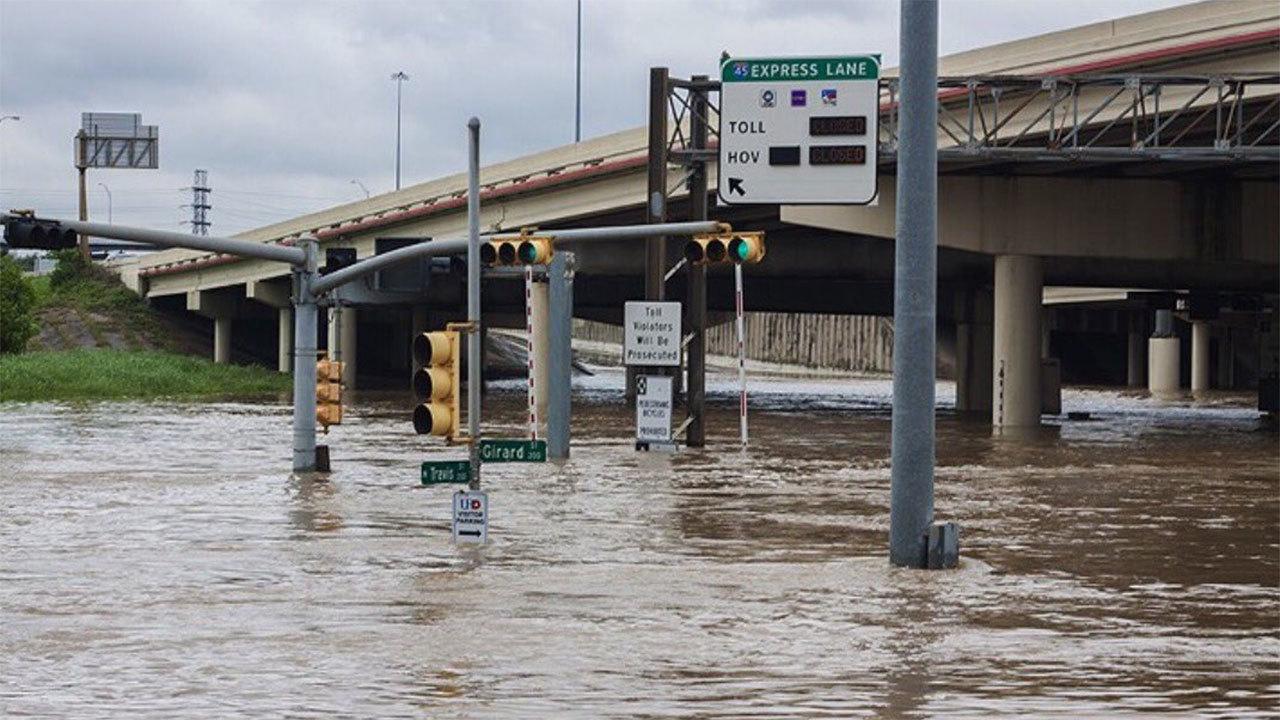 Powerful Storms Dump Half Foot Of Rain On Houston