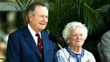 George H.W. Bush, Barbara continue to improve in hospital