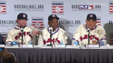 Astros' Bagwell, Raines, Rodriguez speak in NY after Hall of Fame election