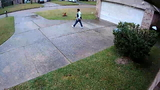 Package theft surveillance video Humble