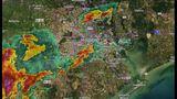 RADAR: Storms moving through Houston area