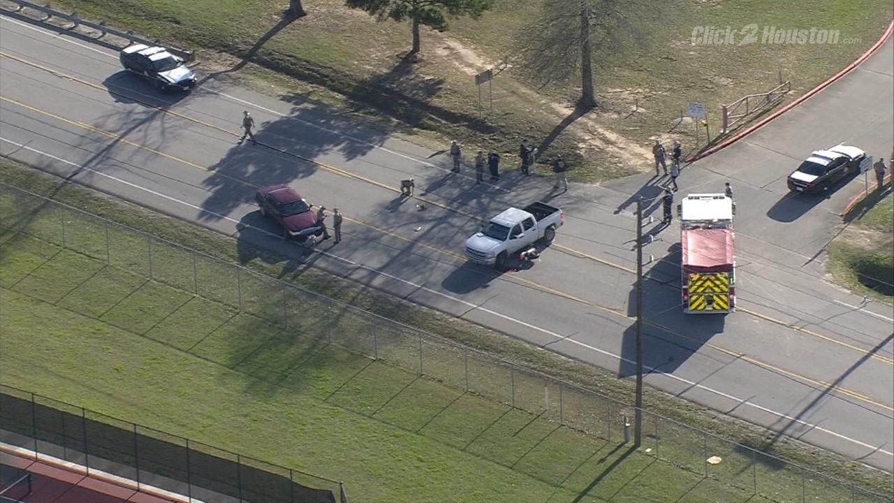 Motorcyclist dies in wreck near Caney Creek High School