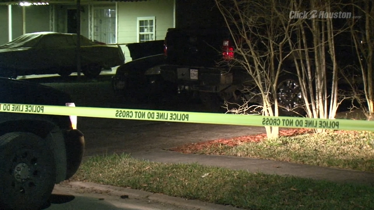 man dies after being shot several times in driveway