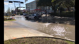 Water main leak closes intersection of Shepherd, Westheimer