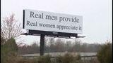 Real men provide billboard