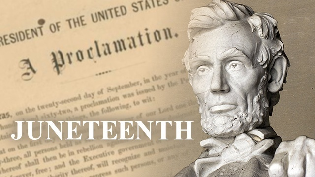 Commemorating Juneteenth 156 years later