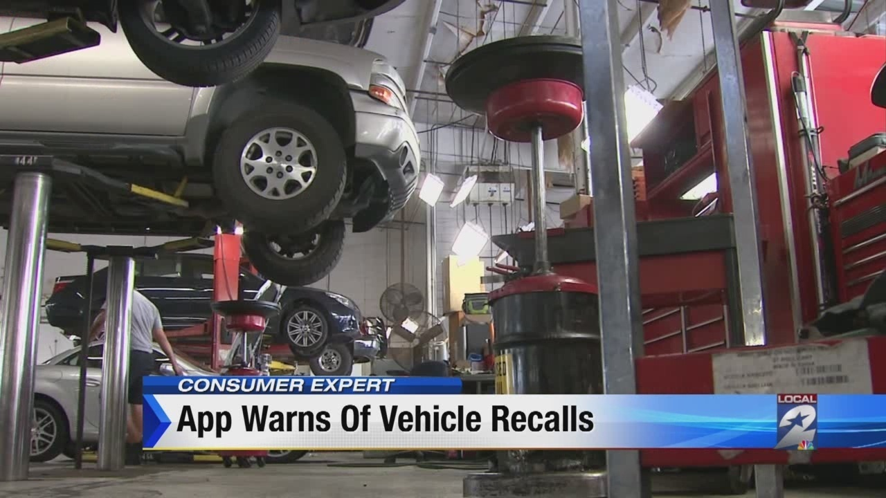 App lets drivers learn about outstanding safety recalls