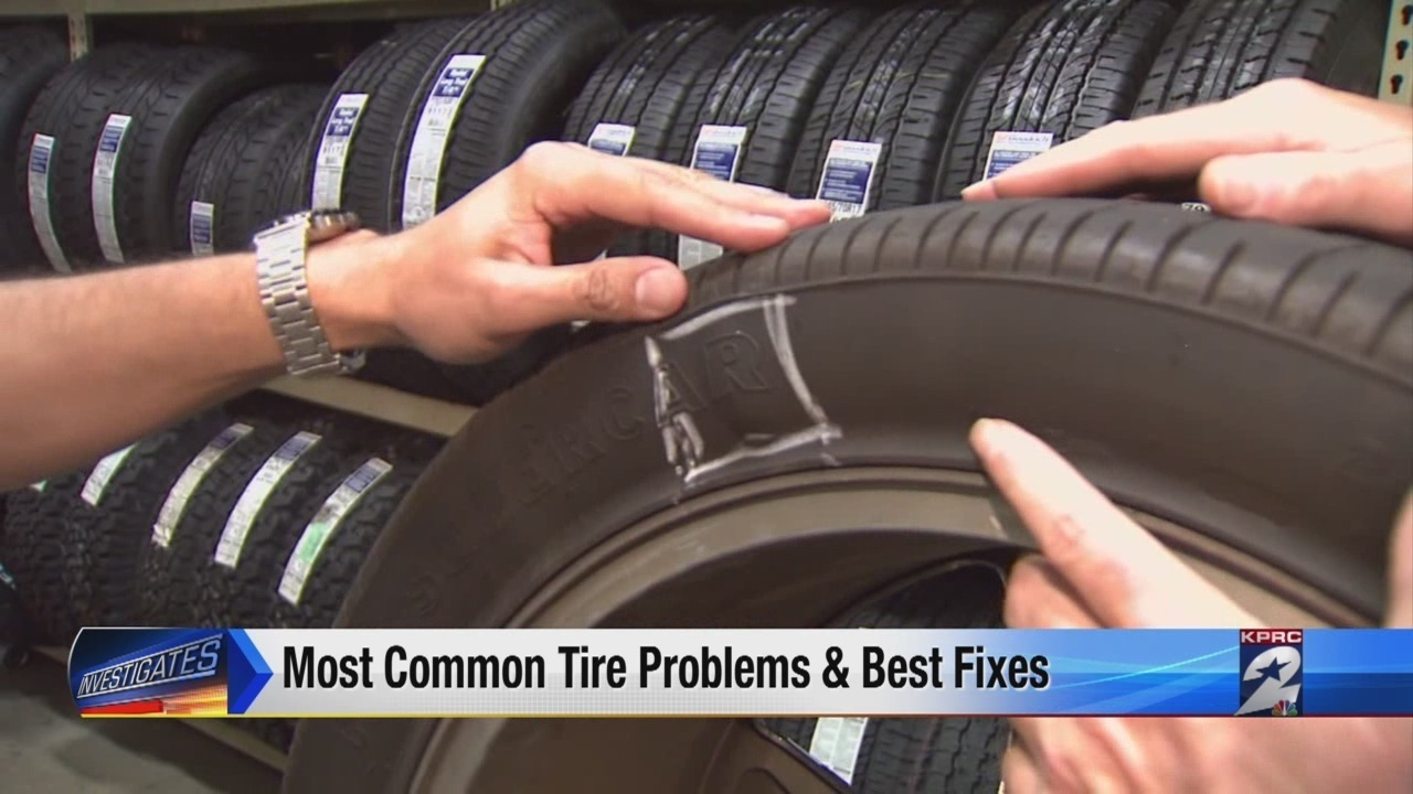 Five most common tire troubles: repair or replace?