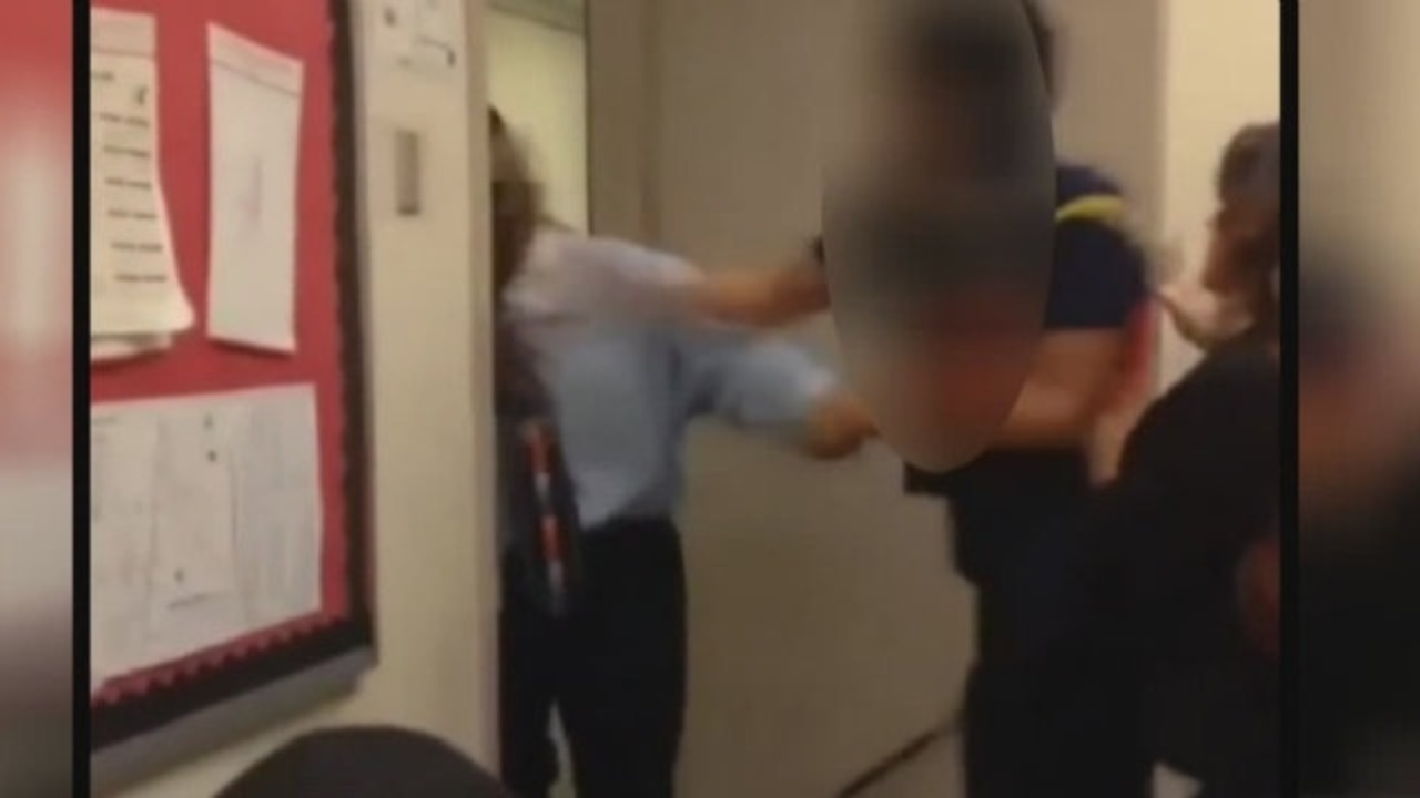 Teacher Punches Student