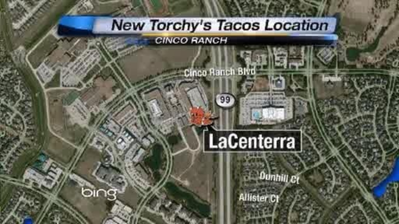 La Centerra Map Torchy's will soon be serving up their famous tacos in Cinco
