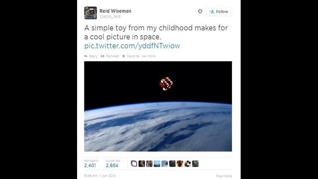 Astronaut Dice