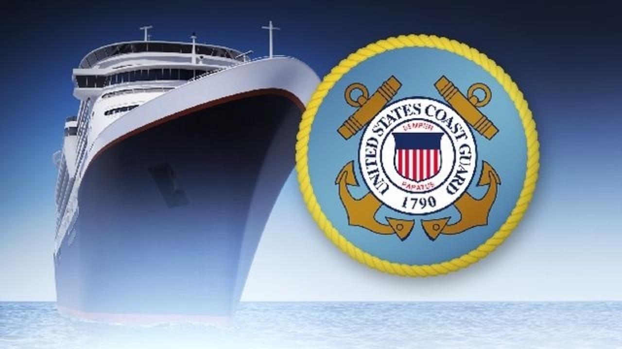 Coast Guard airlifts sick passenger aboard cruise ship