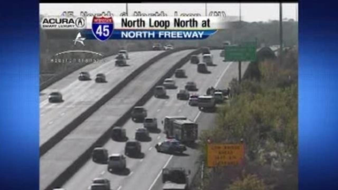 Dead body found in car on North Freeway near 610 North Loop