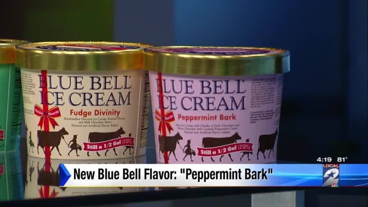 Blue Bell Unveils Special Holiday Themed Ice Cream Flavors