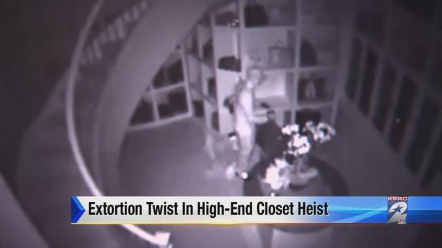 Largest Closet In America Burglarized Woodlands Abc13 Texas Business Woman Robbed Storage Anization