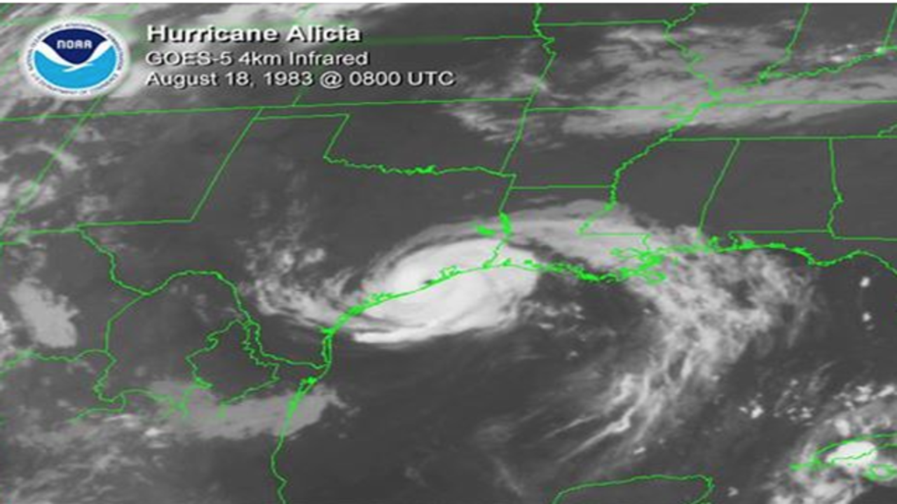 hurricane alicia Sunday marks the 30th anniversary of the landfall of hurricane alicia, which at the time was the costliest tropical cyclone to ever strike the houston area.