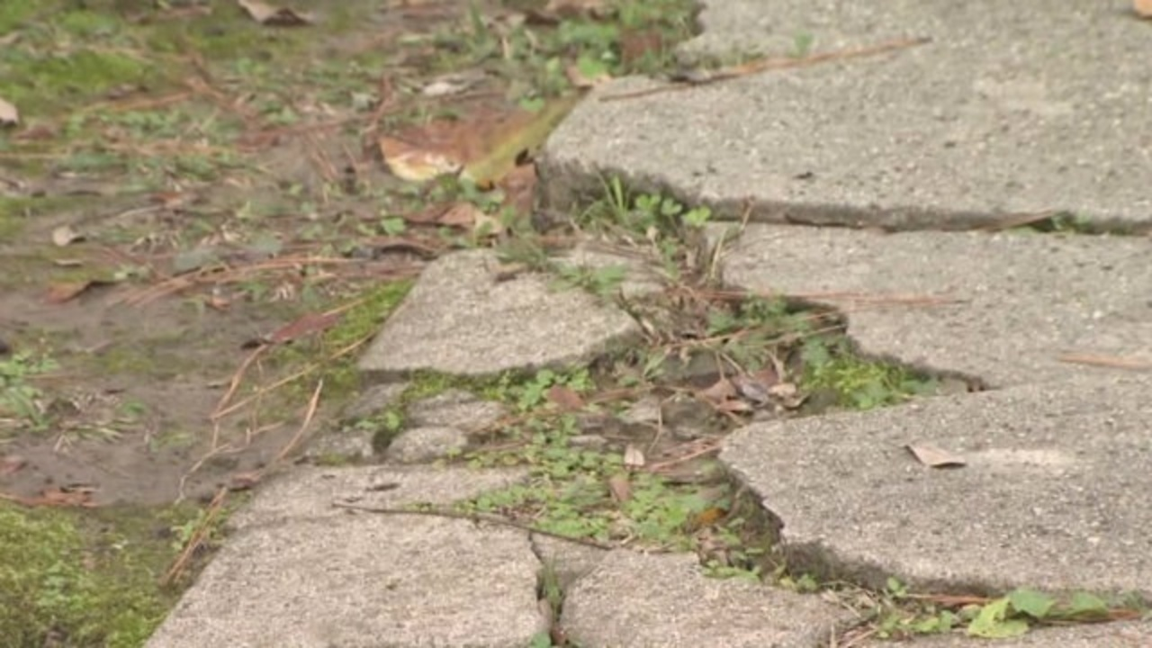 Concrete Walkways Driveways Can Be Repaired For Fraction