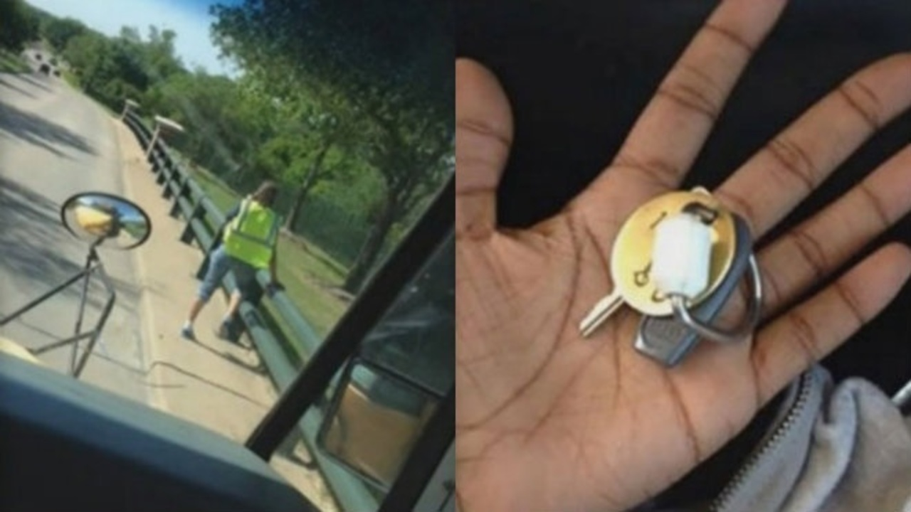 texas school bus driver walks off tosses child keys