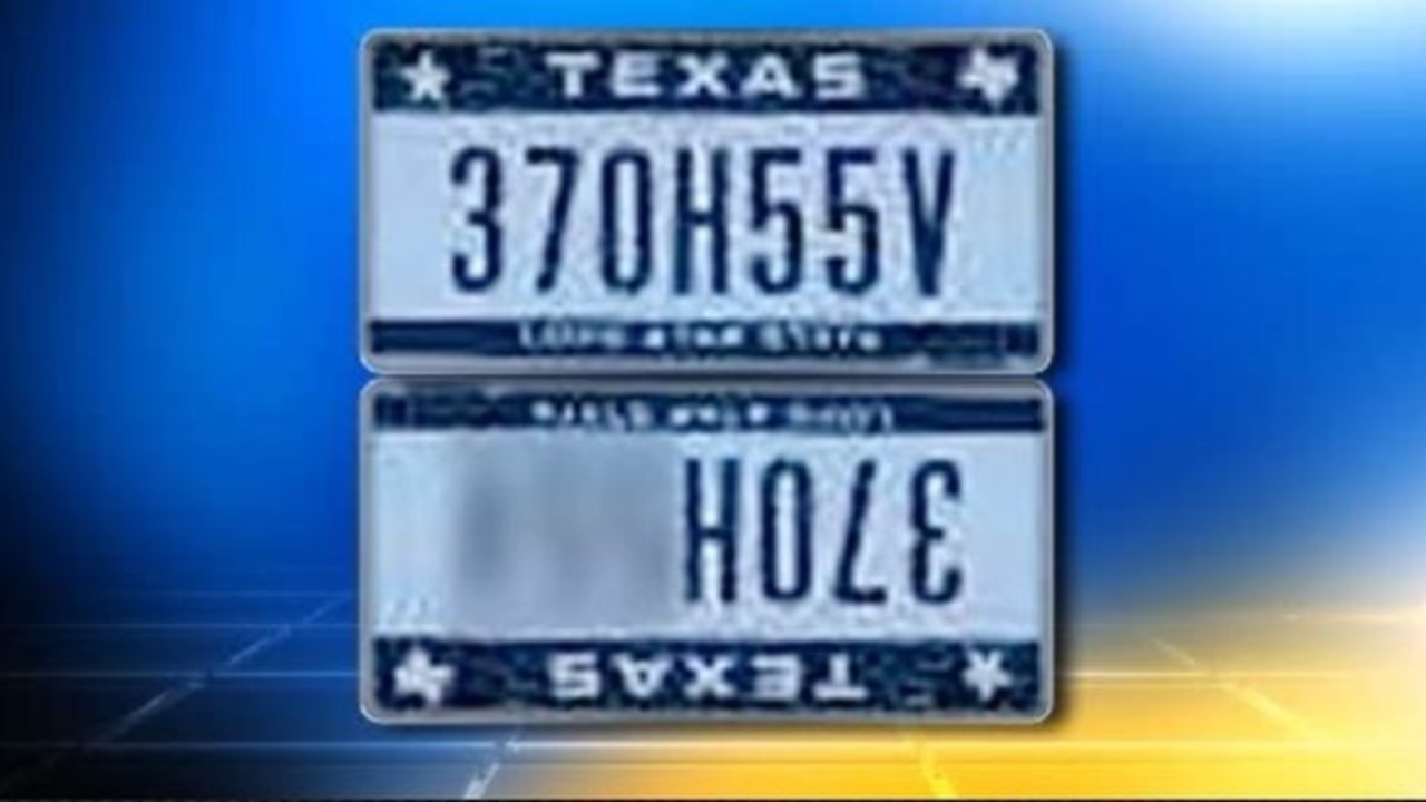 Texas DMV says Houston man\'s license plate is offensive