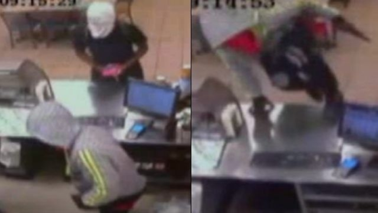 Subway Robbery Caught On Camera