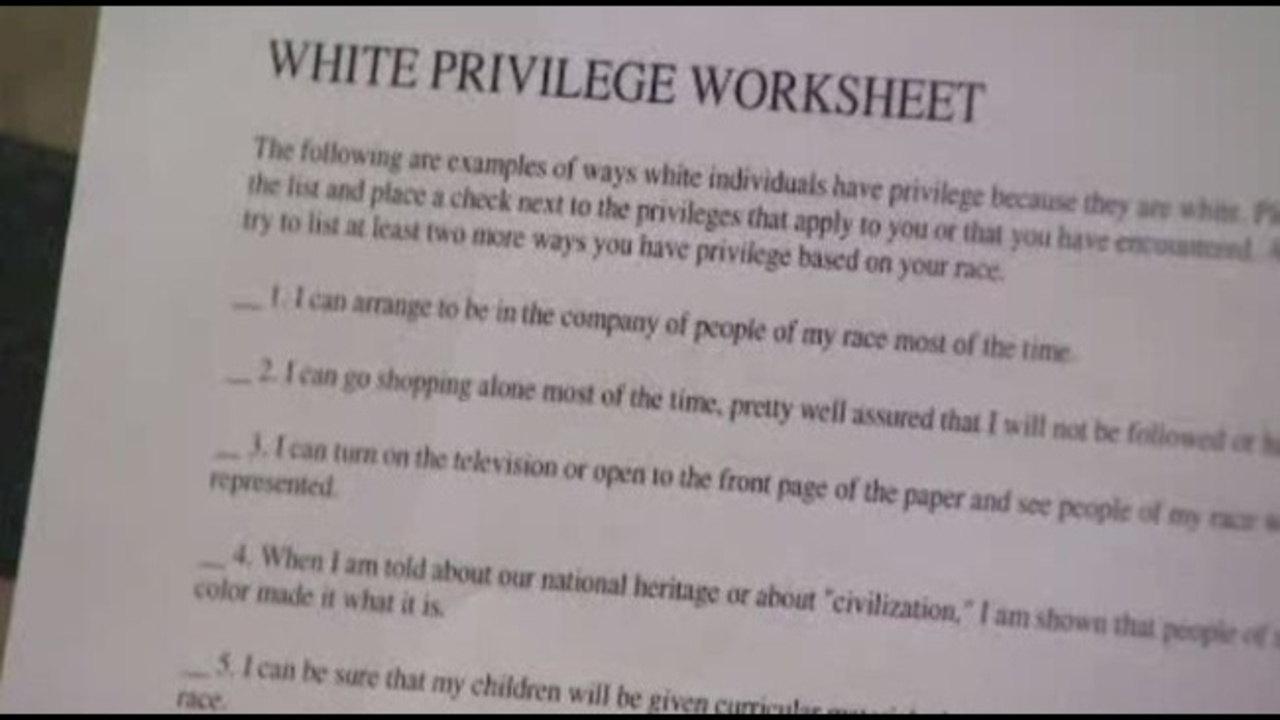 Students Upset About White Privileges Assignment At Lone