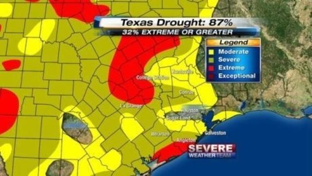 SE Texas Drought 07-04-13