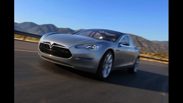 The Tesla Model S_13499902