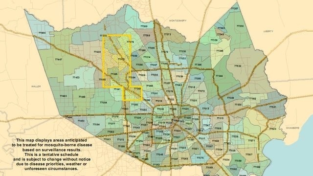 West Nile Virus spray map_16210930