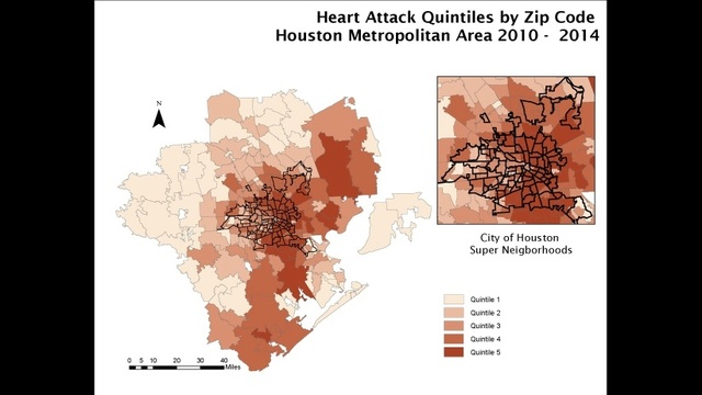 heart attack map