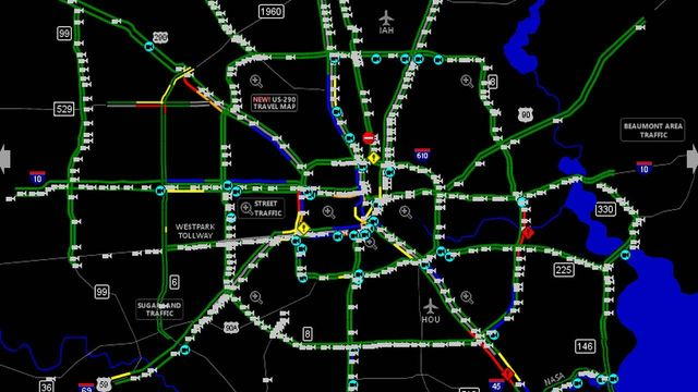Traffic | Houston Traffic, Maps | Click2Houston | KPRC 2 on weather maps, information maps, street view maps, driving directions maps, google maps, dynamic maps,