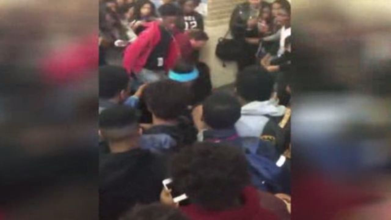 Massive Brawl Between Students At Summer Creek High School