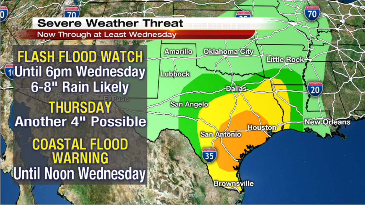 Strong Storms Heavy Rain And Flooding Expected Across
