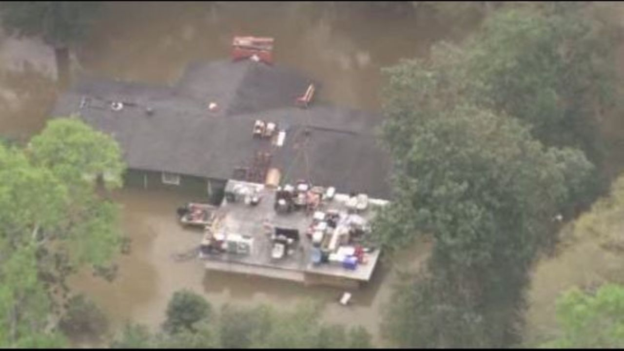 Sabine River Crests More Flooding Expected At Texas