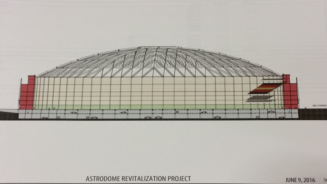 houston astrodome parking lot plan moves forward
