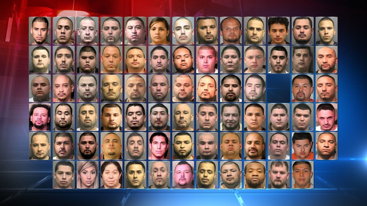 """Local police make 130 arrests in """"Operation Wheels and Deals""""."""