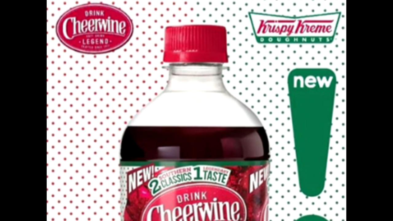 Krispy Kreme, Cheerwine create doughnut soda