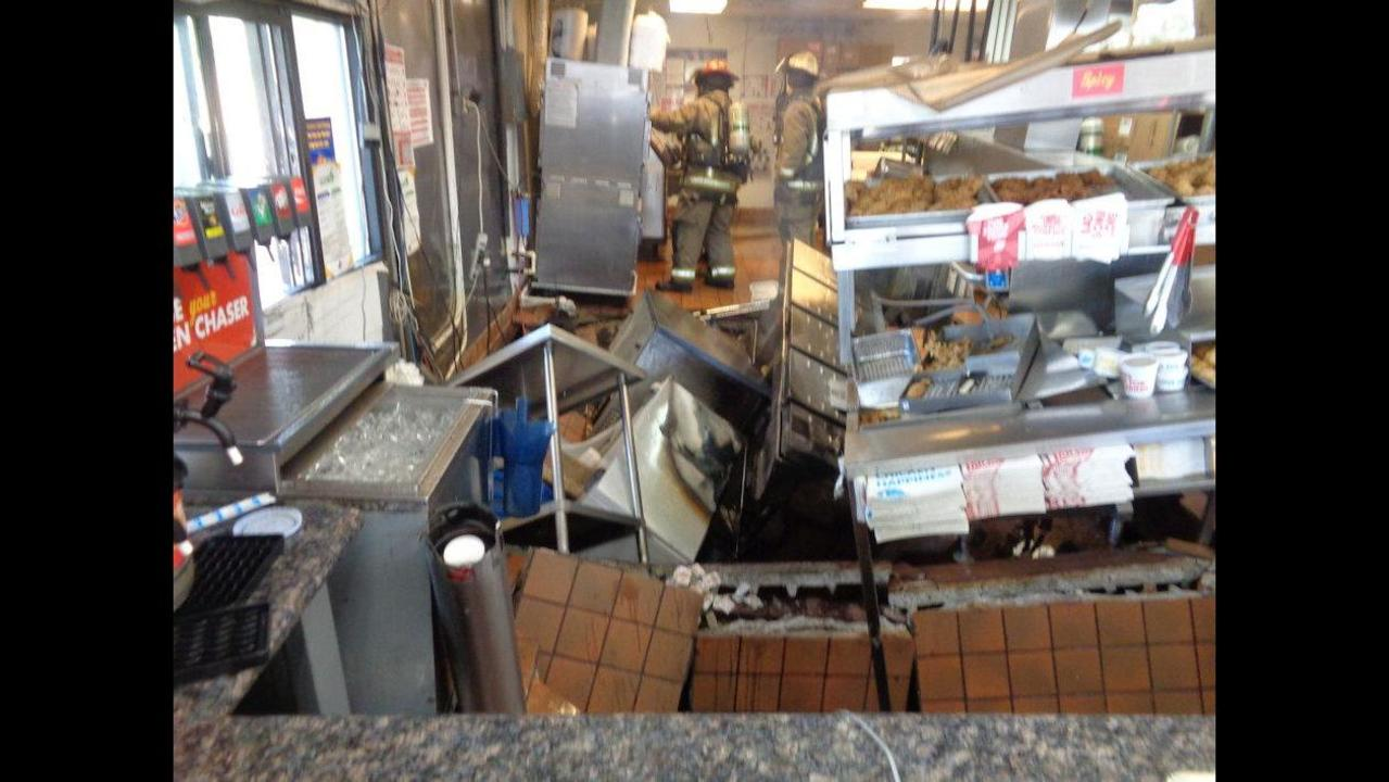 3 Church S Chicken Employees Badly Burned After Floor